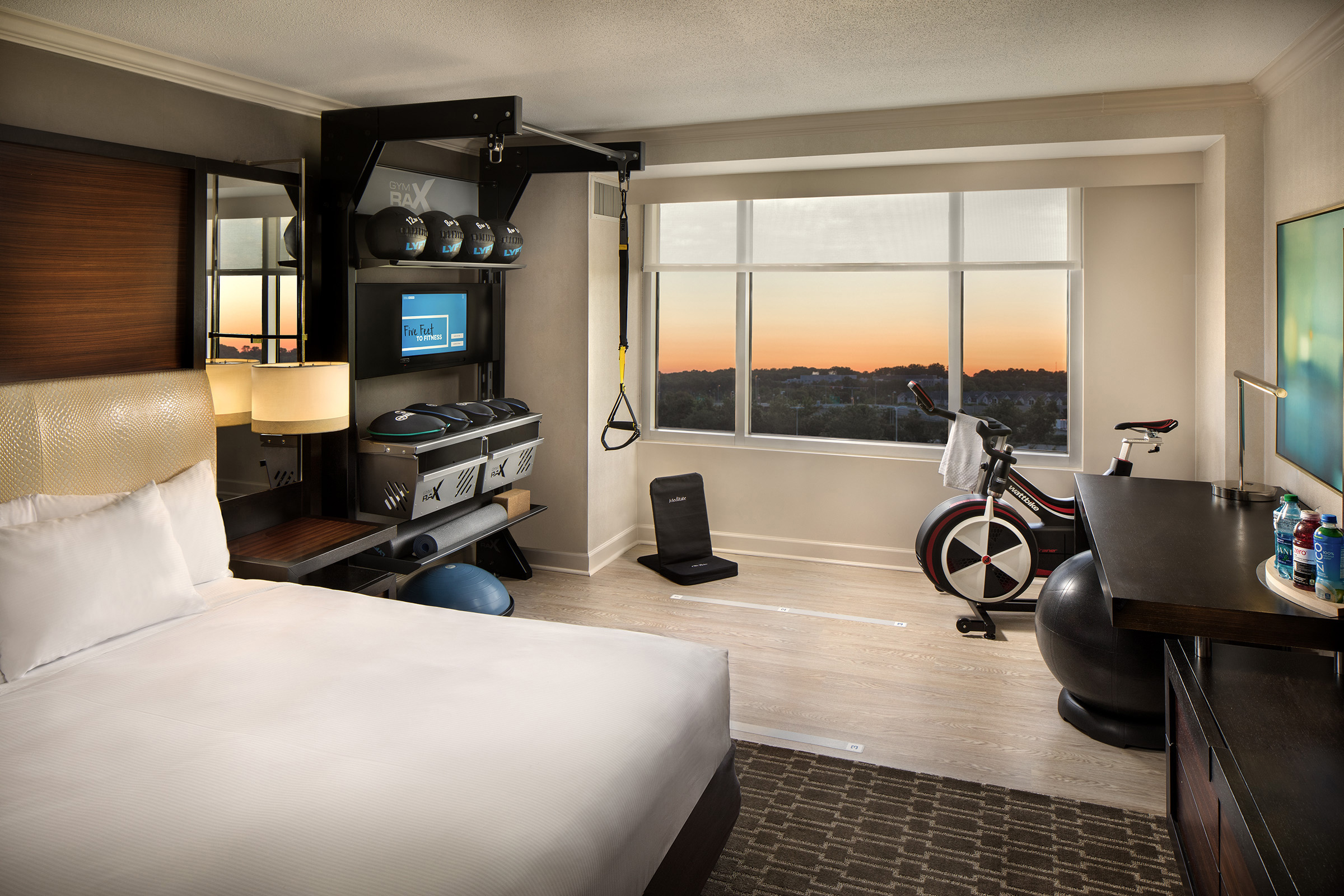Hilton in-room wellness