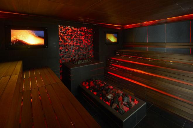 Lava sauna
