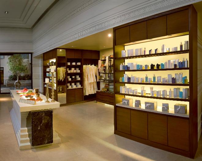 Claridges Surajkund Retail area