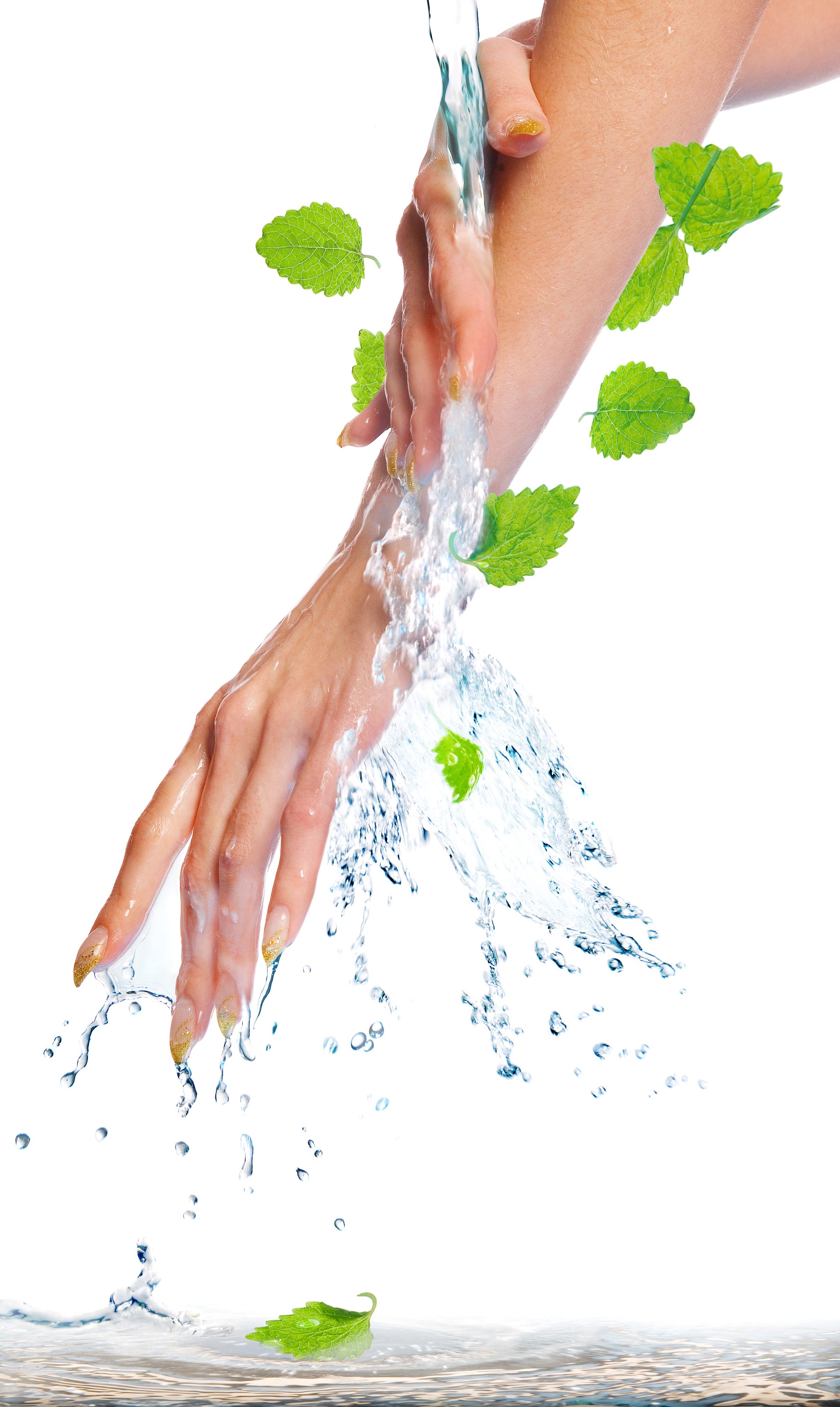 Water manicure