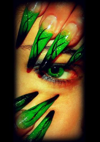 Nail art by Josette Hambleton