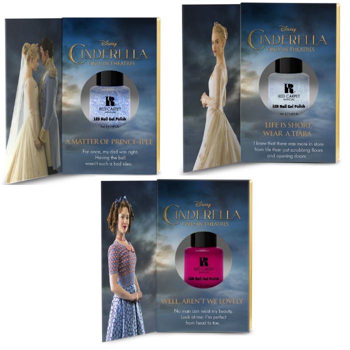 Red Carpet Manicure Cinderella collection