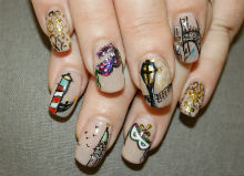 Venetian nail art Simply Gorgeous Beauty