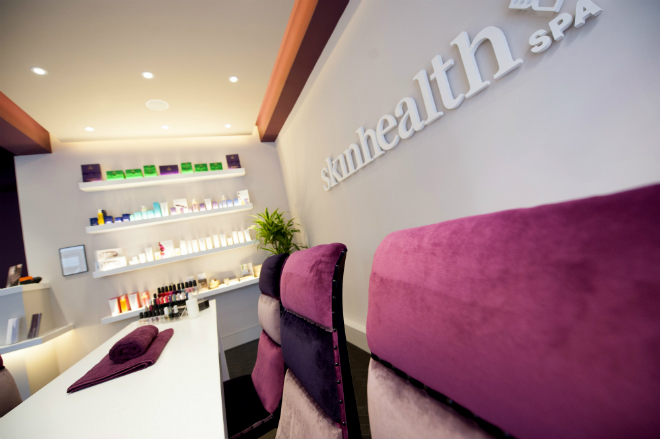 Skin Health Spa reception Manchester