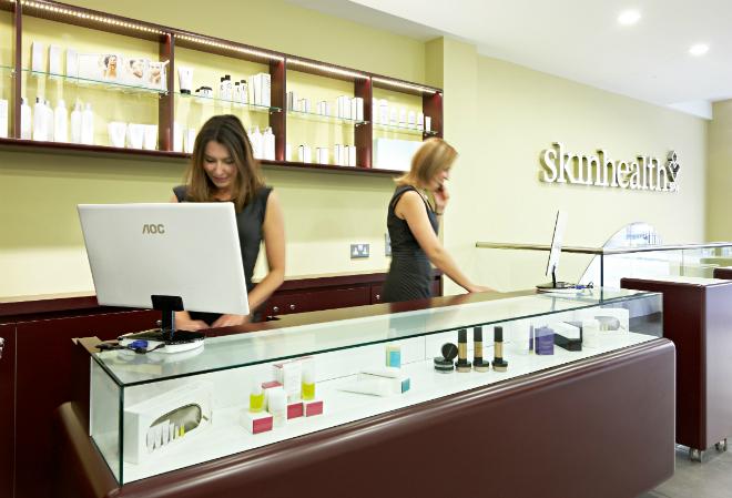 Skin Health Spa reception