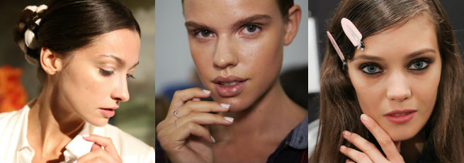 Spring summer 15 catwalk make-up looks