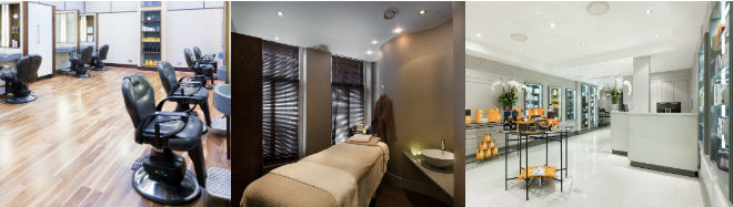 The Refinery beauty and hair salon for men in London