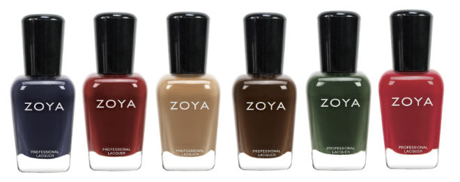 Zoya Fall Collection 13 Cashmeres
