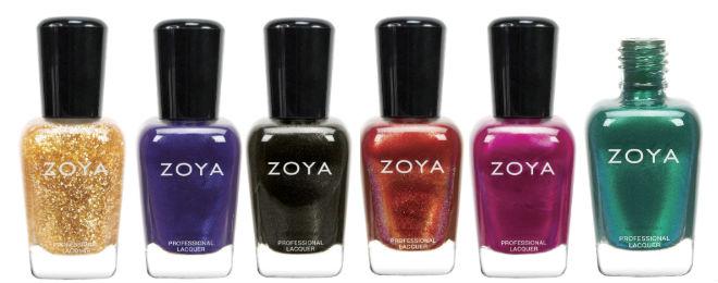 Zoya Fall Collection 13 Satins