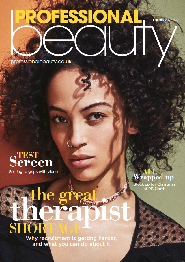 Professional Beauty October 2017 Cover