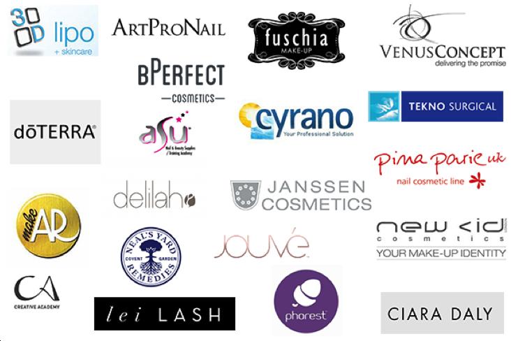 Professional Beauty Belfast Exhibitors