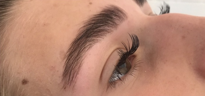 Beautify training academy brow lamination