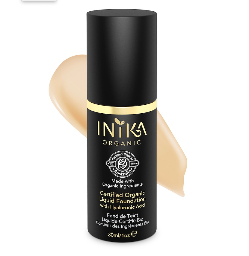 Inika Certified Organic Liquid Foundation
