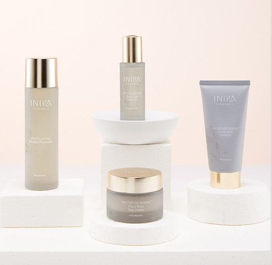 Inika skincare product shot