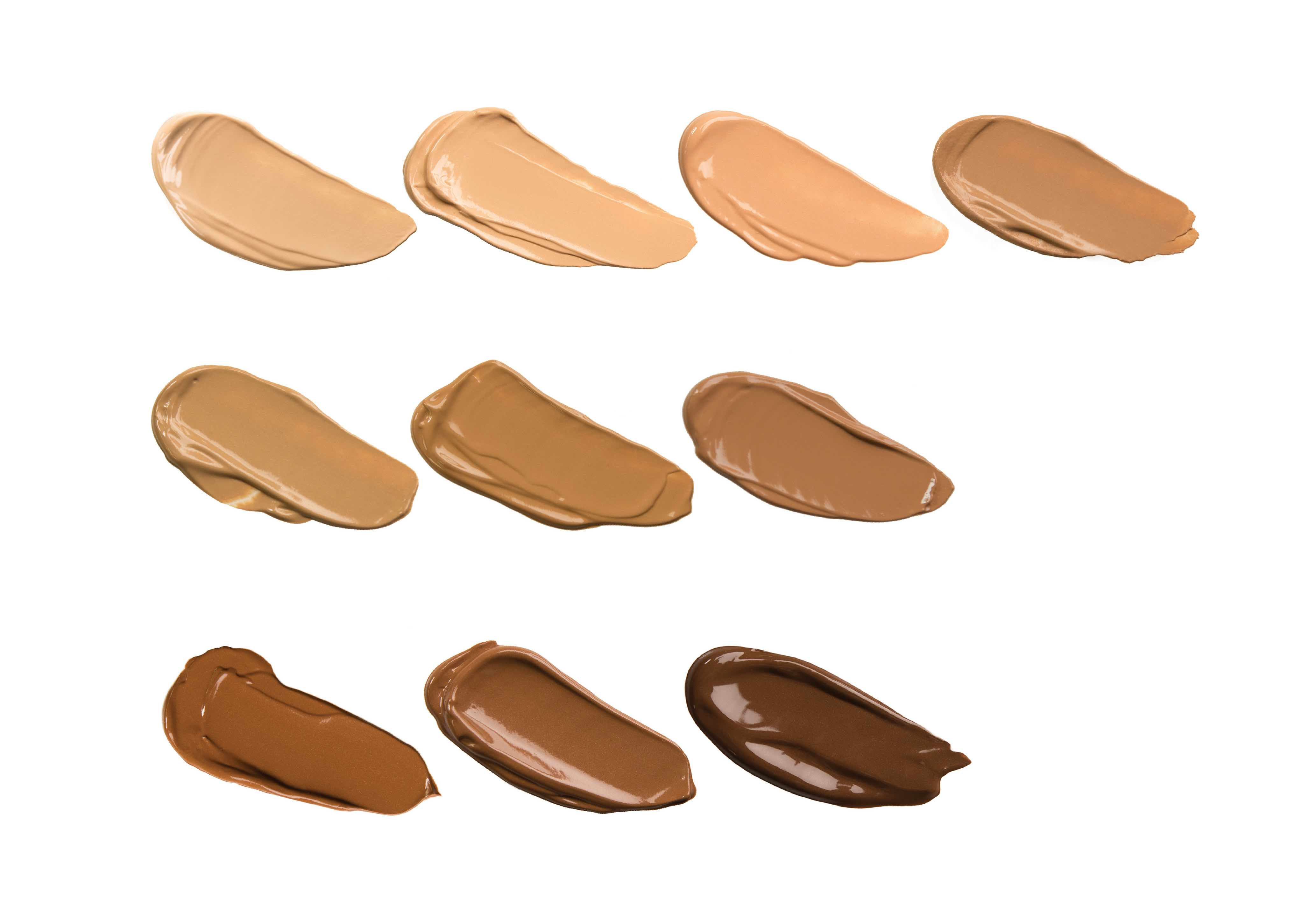 Image result for liquid foundation swatches