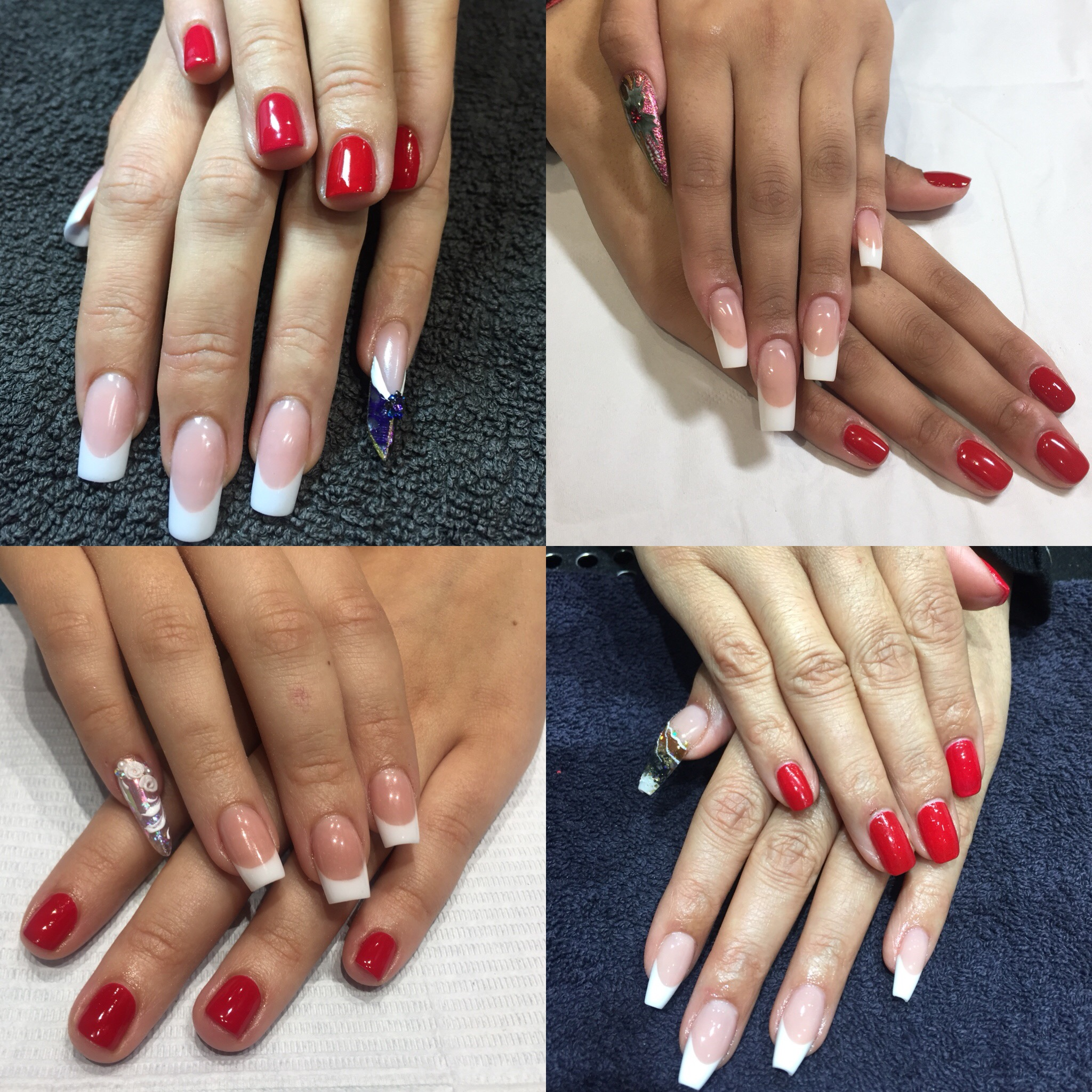 Nail Professional finalists finished looks
