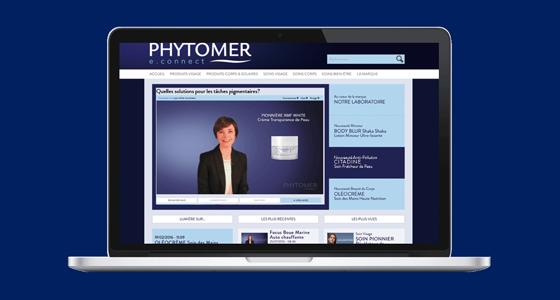 Phytomer e-connect online platform