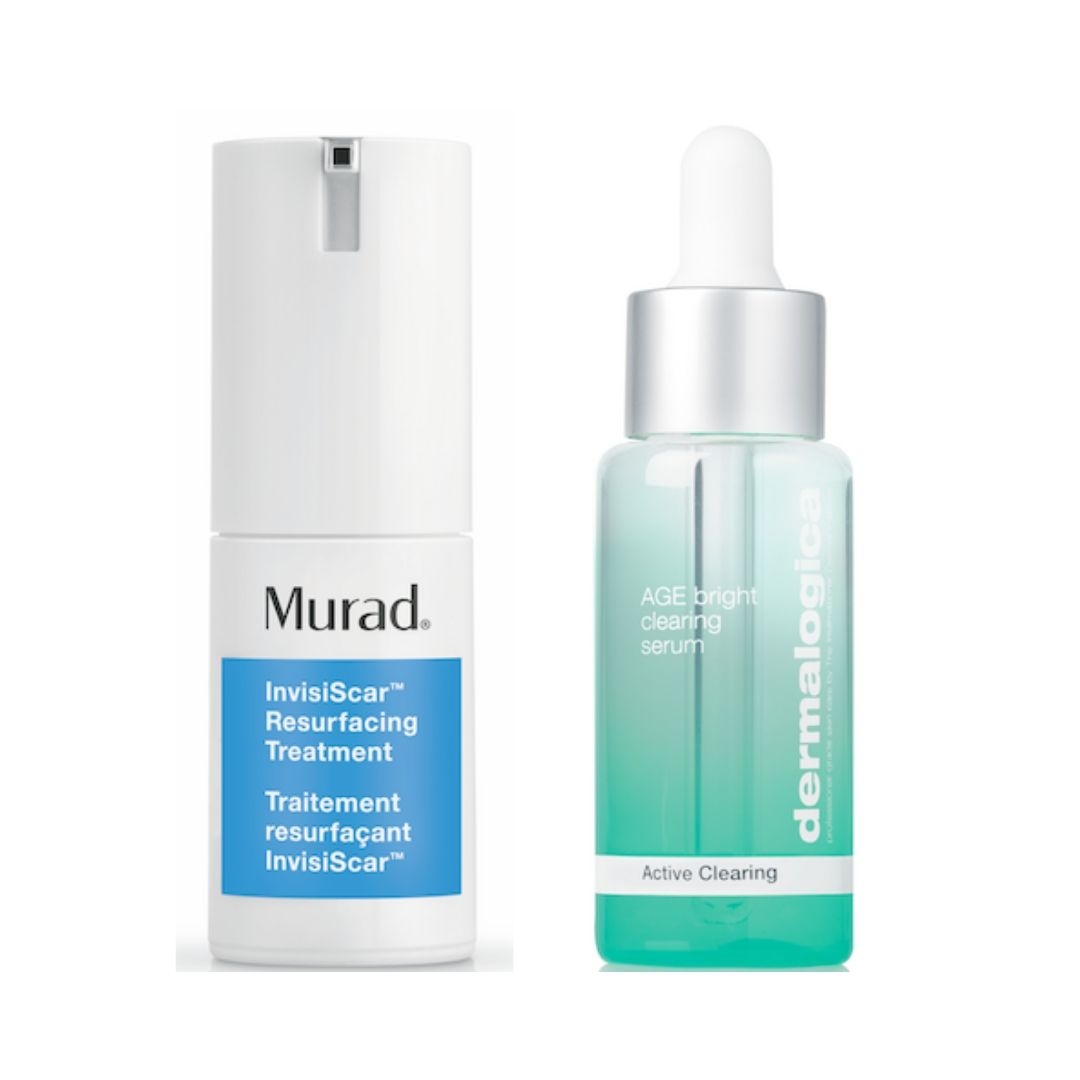Dermalogica and Murad pigmentation products
