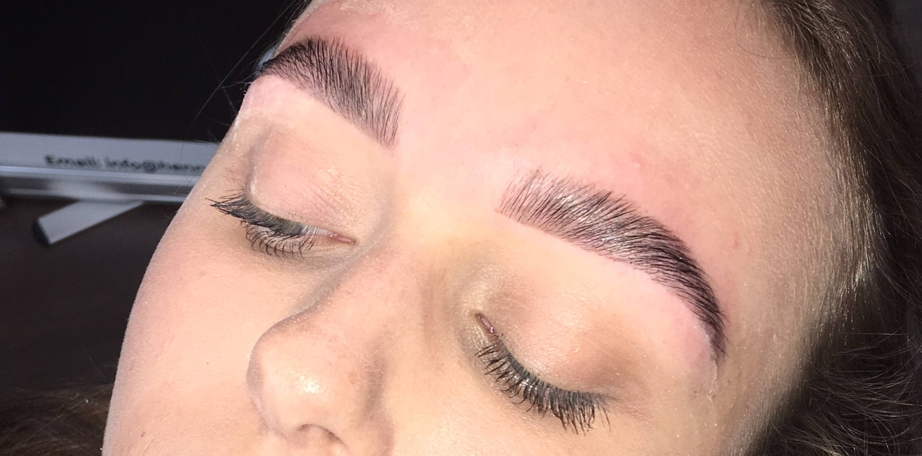 Scottish Beauty Academy brow lamination