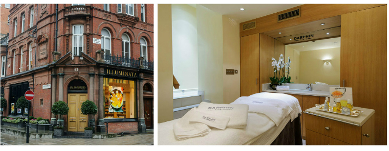Professional Spa And Wellness Darphin Launches Into Two New Uk Spas